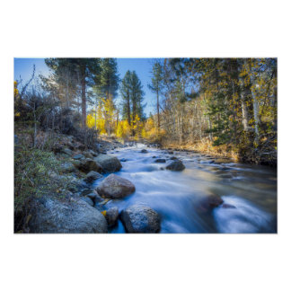 Sierra Mountain Stream Poster