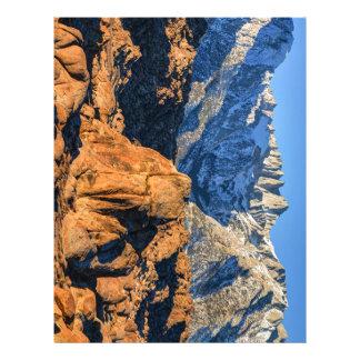 Sierra Nevada Mountains And Alabama Hills Sunrise Custom Letterhead