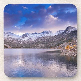Sierra Nevada Mountains, Autumn, CA Drink Coaster