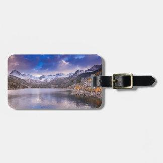 Sierra Nevada Mountains, Autumn, CA Luggage Tag