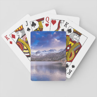 Sierra Nevada Mountains, Autumn, CA Playing Cards
