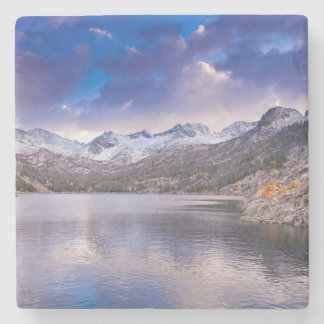 Sierra Nevada Mountains, Autumn, CA Stone Coaster