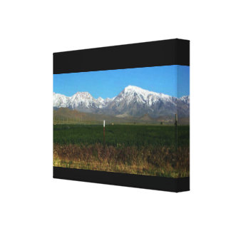 Sierra Nevada Mountains & Countryside Canvas Print