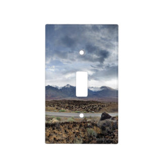 Sierra Nevada Mountains from Owens Valley Light Switch Cover