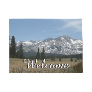 Sierra Nevada Mountains I from Yosemite Doormat