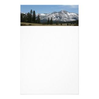 Sierra Nevada Mountains I from Yosemite Stationery