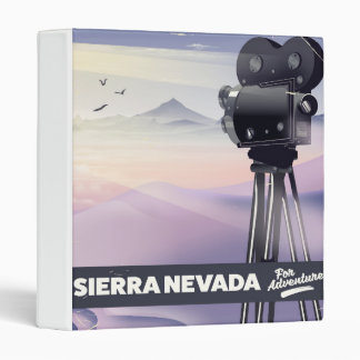 Sierra Nevada Travel poster Binders