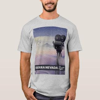 Sierra Nevada Travel poster T-Shirt