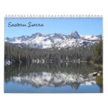 Sierra orientale 2016 calendrier