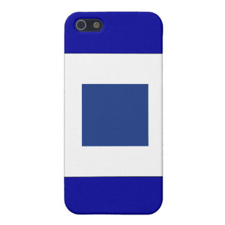 Sierra (S) Signal Flag Cases For iPhone 5