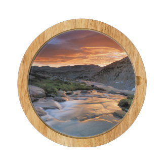 Sierra Wave over Yosemite Rectangular Cheese Board