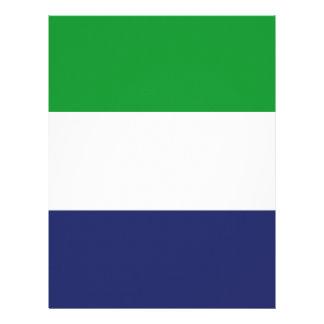 Sierraleoa flag letterhead