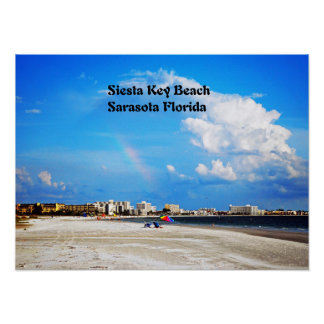 Siesta Key  Beach Poster