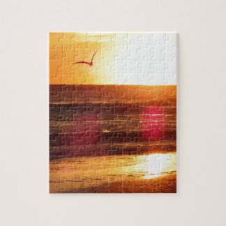 Siesta Key Beach Sunset Jigsaw Puzzle