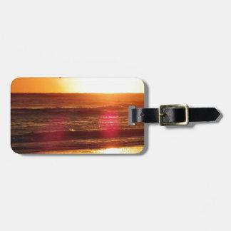 Siesta Key Beach Sunset Luggage Tag