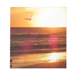 Siesta Key Beach Sunset Notepad
