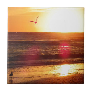 Siesta Key Beach Sunset Tile