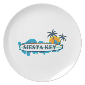 Siesta Key. Plate