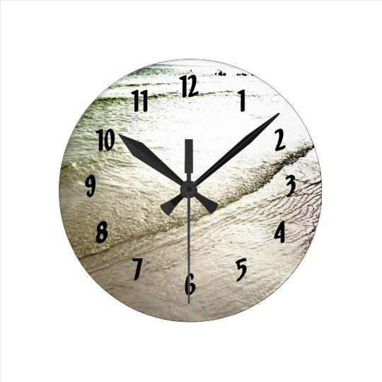 Siesta Keys Meditation Wall Clock