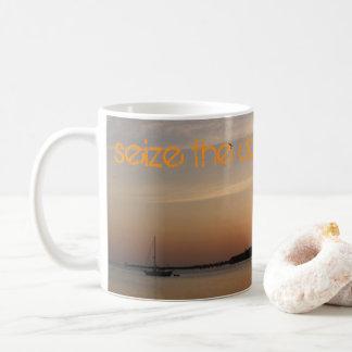 Sieze the day sunrise mug