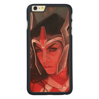 Sif After Battle Carved® Maple iPhone 6 Plus Case
