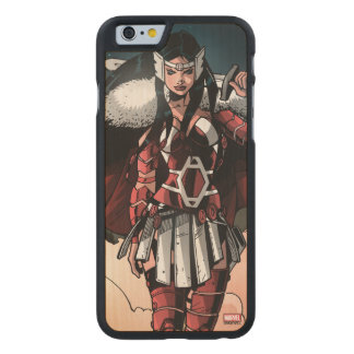 Sif In Moonlight Carved® Maple iPhone 6 Case