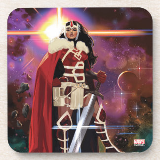 Sif On Asteroid Beverage Coasters
