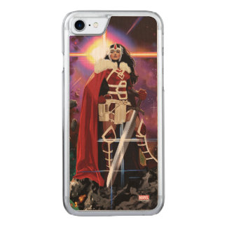 Sif On Asteroid Carved iPhone 7 Case