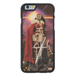 Sif On Asteroid Carved Maple iPhone 6 Case