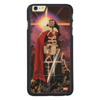 Sif On Asteroid Carved® Maple iPhone 6 Plus Case