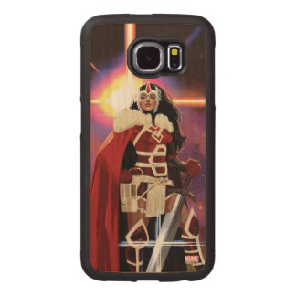 Sif On Asteroid Wood Phone Case