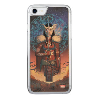 Sif With Sword Carved iPhone 7 Case