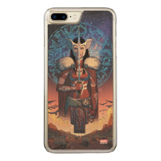 Sif With Sword Carved iPhone 7 Plus Case