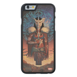 Sif With Sword Carved® Maple iPhone 6 Case