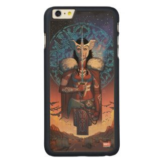 Sif With Sword Carved Maple iPhone 6 Plus Case
