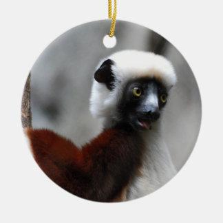 Sifaka Lemur Ornament