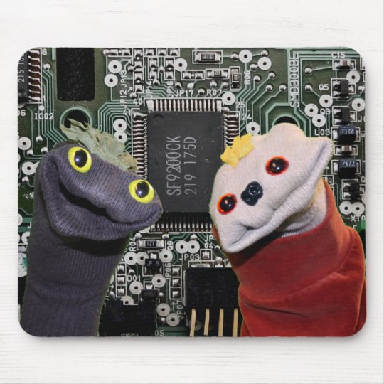 Sifl and Olly Hi-Tech Mousepad