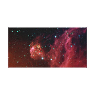 Sig07-006 Red dust sky cloud NASA Canvas Print