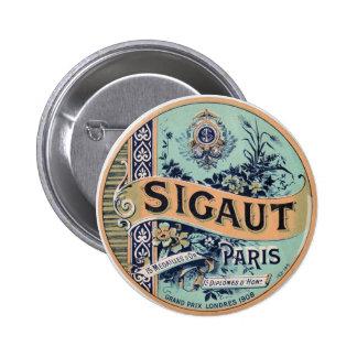 Sigaut Paris - Victorian Advertising Label Pins