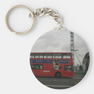 SIGHT SEEING ON WATERLOO BRIDGE 2009 KEYCHAIN
