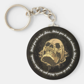 Sight that to you God watches Keychain