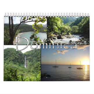 Sights of Dominica Calendar