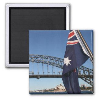 Sights of Sydney Magnet