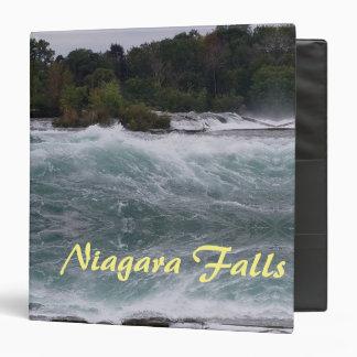 Sightseeing at Niagara Falls Vinyl Binders