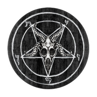 Sigil of Baphomet cutting board