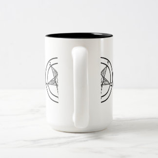 SIGIL OF BAPHOMET TWO-TONE MUG
