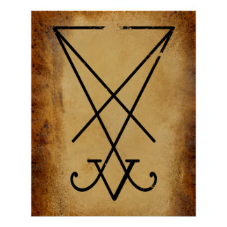 Sigil of Lucifer Perfect Poster