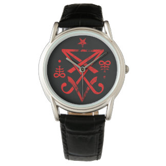 Sigil of Lucifer Wrist Watches