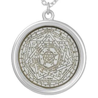 sigillum dei aemeth silver plated necklace