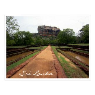 sigiriya postcard